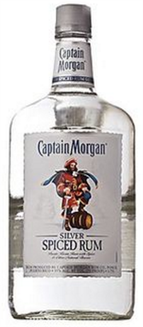 Captain Morgan Rum Silver Spiced